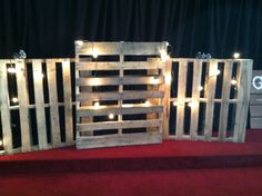 Parkwood Baptist Church - Christmas Stage Decor 2013