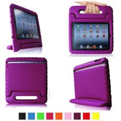 Amazon.com: Fintie Casebot Kiddie Series Light Weight Shock Proof Handle Case for iPad 4th Generation with Retina Display, iPad 3 & iPad 2 K... $20.99
