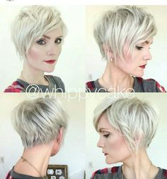 There is lot's of pixie cut ideas if you want a new cut, and here you are the most trendiest 15 Shaggy Pixie Cuts! If you think a new short pixie hairstyles. Shaggy Pixie Cuts, Long Pixie, Short Hair Cuts, Short Hair Styles, Asymmetrical Pixie, Pixie Bob, Short Shag Hairstyles, Pretty Hairstyles, Haircut Short