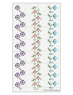 Cross Stitch Patterns by designer Pamela Kellogg Cross Stitch, Crazy Quilting and Embroidery Tiny Cross Stitch, Cross Stitch Bookmarks, Cross Stitch Borders, Cross Stitch Flowers, Cross Stitch Designs, Cross Stitch Patterns, Crazy Quilting, Crazy Quilt Stitches, Crazy Quilt Blocks