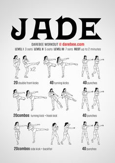 Jade Workout (full body, martial arts)