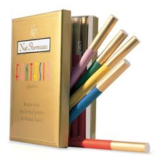 Colored Cigarettes. Nobody said you have to smoke them. They are just pretty objects.
