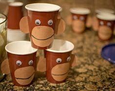 Monkey First Birthday, Monkey Birthday Parties, Birthday Fun, Birthday Party Themes, Birthday Ideas, Curious George Party, Curious George Birthday, Safari Party, Party Printables