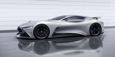 Infiniti Concept Vision Gran Turismo #infiniti