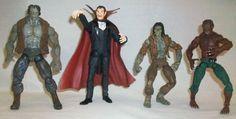 Marvel Legends Monsters Set of 4 Dracula Wolfman Zombie Frankenstein #MarvelToys
