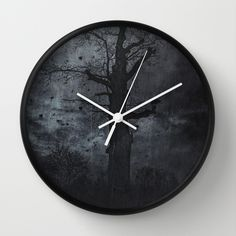 The dirty winter spirit Wall Clock