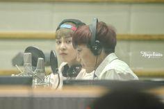 Kai, Xiumin-130912KBS-R Cool FM Super Junior's Kiss The Radio -2/3 Credit: Angelonia.(KBS-R 쿨 FM 슈퍼주니어의 키스 더 라디오)