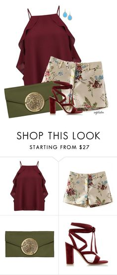 """""""Warm Colors for Warm Weather"""" by angkclaxton ❤ liked on Polyvore featuring Miss Selfridge, Dareen Hakim and Gianvito Rossi"""
