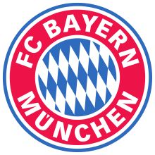 This logo is for my favorite German team, Bayern Munich, located in Munich. I like this team for how they play and for how they dominate the league that they are in. Some of my favorite players on the team are Robert Lewandowski, Arjen Robben, Franck Ribery and Thomas Muller.