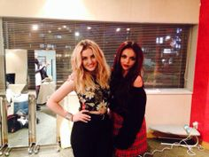 Jesy Nelson and Perrie Edwards