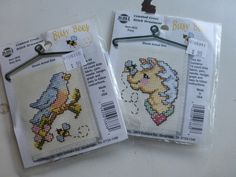 Busy Bee - Counted Cross Stitch Hanger Decoration Kit