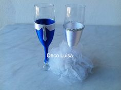 Copas personalizadas para una boda