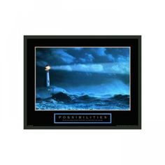 """Frames By Mail Motivational Framed Possibilities Print - 22"""" x 28"""" - F101626-MA-RM"""