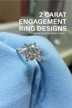 Beautiful 2 Carat diamond ring designs at budget-friendly prices! 2 Carat Engagement Ring, Engagement Wedding Ring Sets, Designer Engagement Rings, Wedding Rings, Wedding Stuff, Wedding Ideas, 2 Carat Diamond Ring, Diamond Rings, Diamond Jewelry