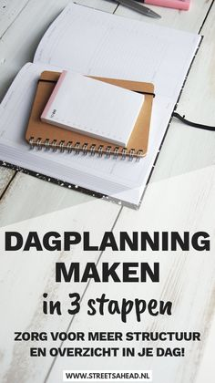 Een dagplanning geeft je meer overzicht en structuur in je dag. Wil jij je tijd beter indelen? Ik help je met het maken van een dagplanning in 3 stappen. Zo kun je je tijd optimaal besteden!