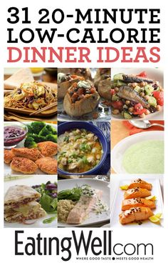 Get healthy inspiration for dinner on EatingWell.com