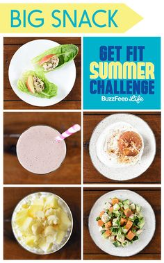 5 Healthy Snacks To Eat For The Get Fit Summer Challenge