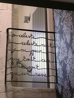 Le balcon de Juliette, Atelier Rouge Cerise