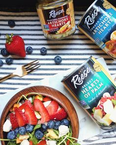 Refreshing Summer Salad! This refreshing summer salad post is a sponsored conversation written by me on behalf of Reese Specialty Foods. All opinions are my own. #Sponsored #HeartToHeartKitchen #ReeseSpecialtyFoods http://www.spiffykerms.com/2017/08/refreshing-summer-salad/