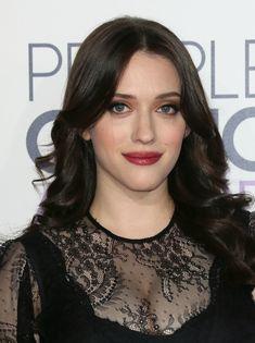 "Kat's wearing Avon True Color Eye Shadow Quad in ""Mocha Latte"" and Avon Ultra Color Lipstick in ""Cherry Jubilee."""