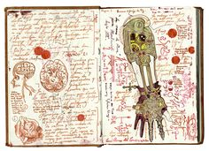 Guillermo del Toro's BRILLIANT sketchbook  | article by CHARLIE JANE ANDERS | io9