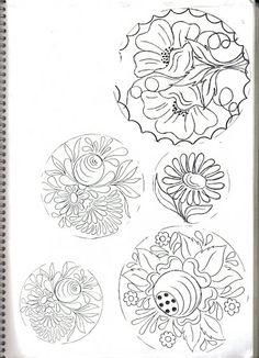 plate pattern = Riscos - Bauernmalerei - magadesign - Picasa Web Albums