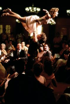 """Dirty Dancing (1987) - It was the summer before 9th grade.  I was 14 and fell in love with this movie.  I saw it in the theater over 50 times.  It was """"THAT MOVIE"""" for me."""
