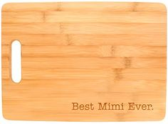 Best Kitchen Cart | Best Mimi Ever Grandma Gift Kitchen Dcor Big Rectangle Bamboo Cutting Board Bamboo -- See this great product. Note:It is Affiliate Link to Amazon.