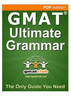This book is a collective product based on input and feedback from many members. If you have any questions or suggestions, please do not hesitate to post them here, on the GMAT Club forum.