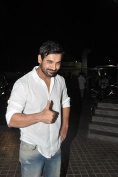 John and Tusshar at the Special Screening of 'Shootout at Wadala' hosted for Media and Press