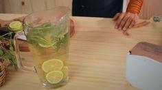 Chá com erva cidreira, verbena, hortelão, lavanda e limão... bela gil