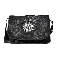 Supernatural Black Messenger Bag
