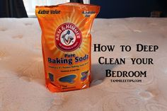 Tips and Tricks for Bedroom Deep Clean - Tammilee Tips #cleaning