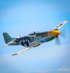 Gorgeous shot of the Mustang. P51 Mustang, Fighter Jets, Aircraft, American, Aviation, Planes, Airplane, Airplanes, Plane