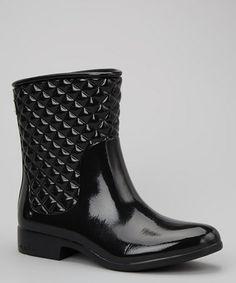 Another great find on #zulily! Black Drift Boot - Women #zulilyfinds