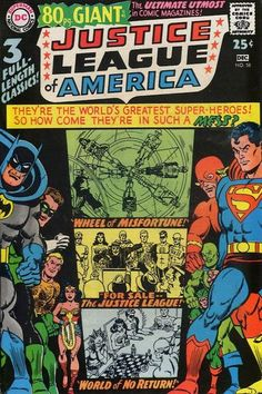 Justice League of America 80 pg Giant!
