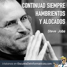 Steve Jobs #motivación #tecnología