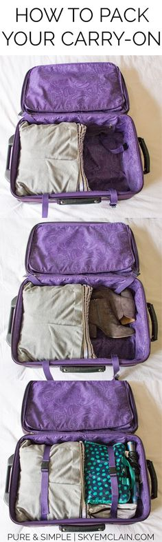 How to Pack Your Carry-On: Never pay for checked baggage again! Pack everything you need for any trip into a carry on! (scheduled via http://www.tailwindapp.com?utm_source=pinterest&utm_medium=twpin&utm_content=post94557777&utm_campaign=scheduler_attribution)