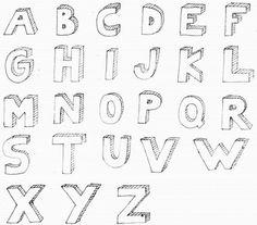 Cute Letter Fonts AZ   ADHappyFont_A_Z-e1349491986888.jpg   Words ...