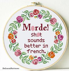 390 Best DeLorai modern and funny cross stitch patterns images in