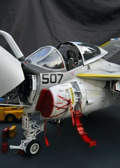 Intruder By Modeler Stephane Dufrene Us Navy Aircraft, Military Aircraft, Air Fighter, Fighter Jets, Scale Models, Precision Scale, Model Hobbies, Military Diorama, Model Airplanes