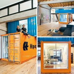 SAN FRANCISCO SHIPPING CONTAINER OFFICE & GUEST BEDROOM - DWELL BOXES