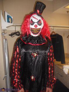 Scary Clown Costume - 2013 Halloween Costume Contest