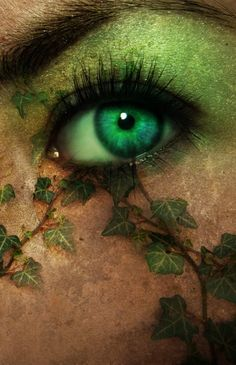 Green Eye... envy.  OMG. OMG. OMG. been looking for ideas of how i want my makeup to look for my costume. This is exactaly the mental picture i had. :) YAY.