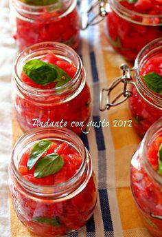 Tomato sauce home made!