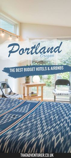 The best budget hotels and airbnbs in Portland, Oregon in the USA. These hotels and airbnbs are stylish, cute and cheap when shared by a couple!   #portland #budgettravel #hotels #airbnb #oregon #travel #budgeting #budgetfriendly #budgetholidays