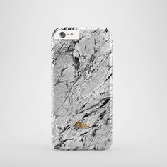 """Scaly"" / feature with Cracked Grey marble stone printed iPhone cover. #marble #case #paletto"