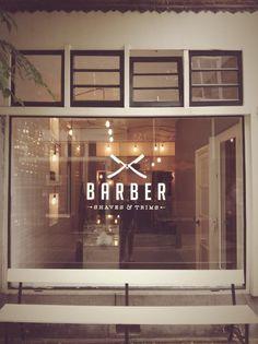 BARBER - Logo + Window