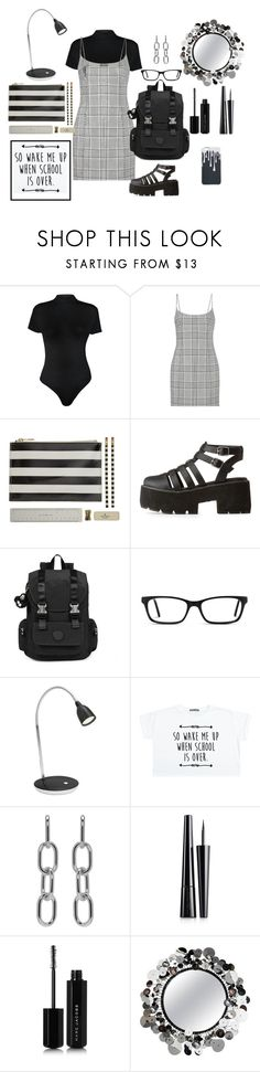 """Campus Life 💻"" by jbeb ❤ liked on Polyvore featuring WearAll, Alexander Wang, Kate Spade, Qupid, Kipling, Muse, EMU Australia, Estée Lauder, Marc Jacobs and Artisan House"