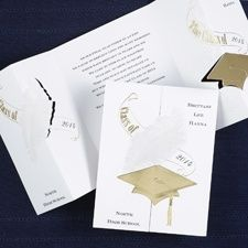 Enjoy huge discounts, special promotions, and free graduation invitations announcements cards; the more graduating announcement invitation cards you buy, the larger your discount and lower the price at GraduationCardsShop.com